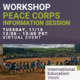 IEW: Peace Corps Information Session