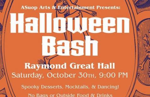ASUOP A&E Presents: Halloween Bash