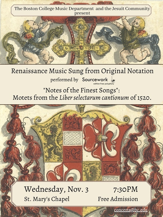 """""""Notes of the Finest Songs"""": Motets from theLiber selectarum cantionumof 1520."""
