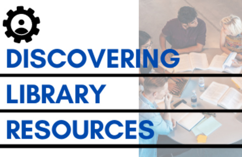 Discovering Library Resources