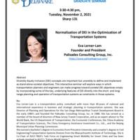 Graduate Seminar: Eva Lerner-Lam