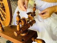 Spinning & Weaving Demonstration