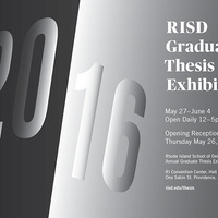 RISD Graduate Thesis Exhibition 2016