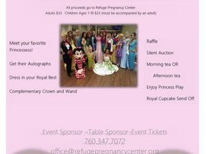 4th Annual Princess Tea & Silent Auction Fundraiser