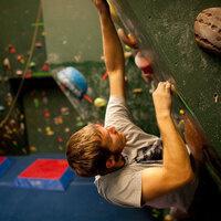 Angert Family Climbing Wall