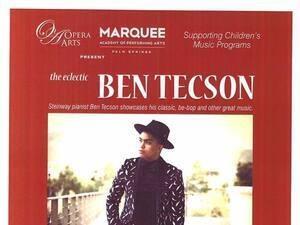 OperaArts presents the eclectic Ben Tecson