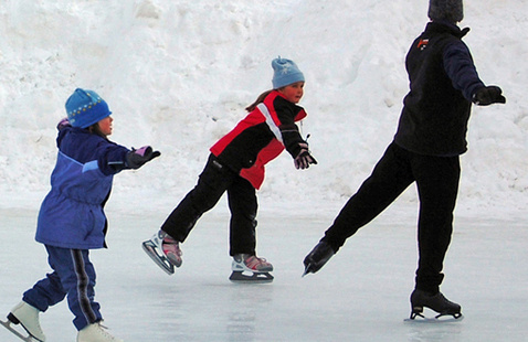 The Ice Rink At Sugar Hill