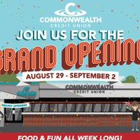 Commonwealth Credit Union Grand Opening Week