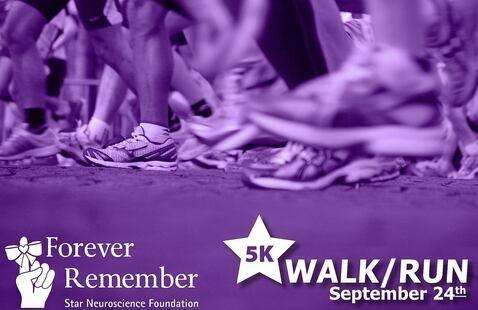 Forever Remember 5K Walk/Run for Star Neuroscience Foundation