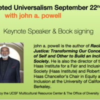 Targeted Universalism with john powell