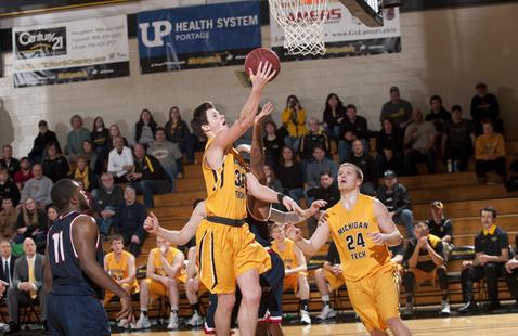 (Men's Basketball) Michigan Tech at Lewis