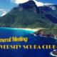 University Scuba Club: First Meeting