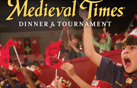 Scout Appreciation Day at Medieval Times