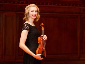 Oberlin Orchestra: Raphael Jiménez, conductor; Christa Cole '17, violin soloist
