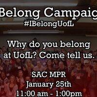 Unity Week 2017: #IBelongUofL Campaign