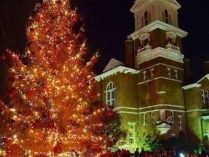 Gwinnett Historic Courthouse Lighting of the Tree