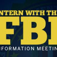 FBI internship information meeting