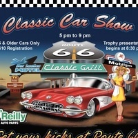 Route 66 Classic Car Show w/Live Music