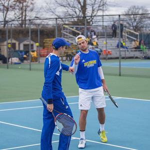 University of Delaware Men's Tennis vs Navy Gold Invite