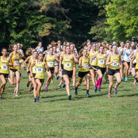 University of Delaware Women's Cross Country vs NCAA Mid-Atlantic Regionals