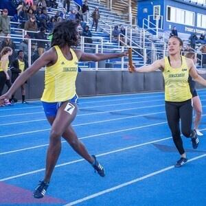 University of Delaware Track & Field - Outdoor vs CAA Outdoor Championshops
