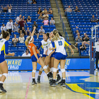 University of Delaware Volleyball at Northeastern University