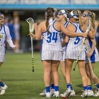 University of Delaware Women's Lacrosse vs Brown University - Exhibition at UConn