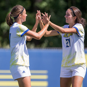 University of Delaware Women's Soccer vs #6 JMU - CAA Semifinals - Semifinals