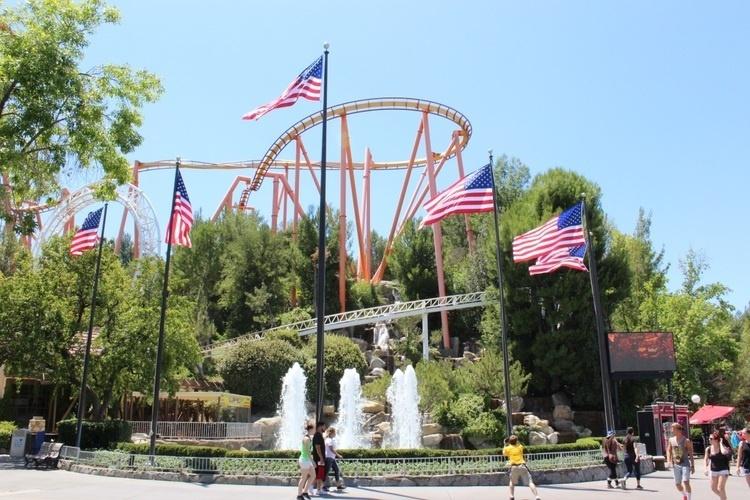 July 4th Fest At Six Flags Magic Mountain Santa Clarita Community Calendar