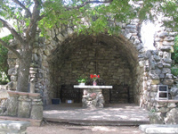 Founders Day | Mass at the Grotto