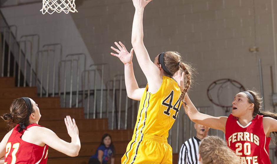 (Women's Basketball) Michigan Tech at Ferris State