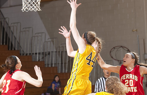(Women's Basketball) Michigan Tech at Saginaw Valley State