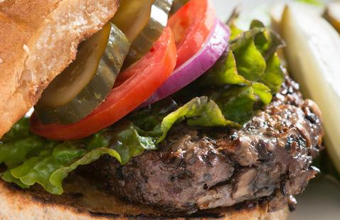 Blended Burger Launch @ Mount Zion Cafe