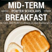 Porter Mid-Term Breakfast