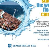 Semester At Sea Info Table