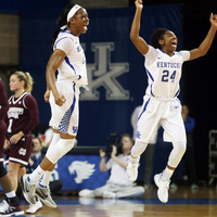 University of Kentucky Women's Basketball at University of California