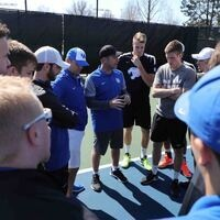 University of Kentucky Men's Tennis vs Cleveland State - First Round