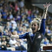 University of Kentucky Women's Gymnastics at Texas Woman's