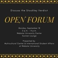 Stockley Verdict Open Forum