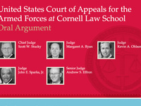 Oral Argument before the United States Court of Appeals for the Armed Forces