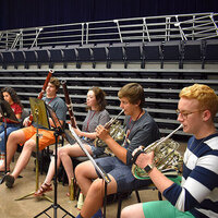 Honors Chamber Winds Performance 2018