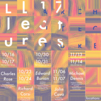 Architecture Department Fall Lecture Series
