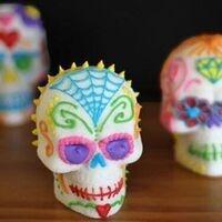 Dia de los Muertos Sugar Skull Decorating