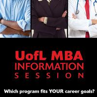 MBA Information Session November 1, 2017