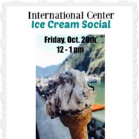 International Center Ice Cream Social