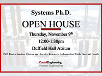 Systems Ph.D. Open House