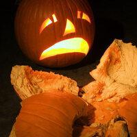 Pumpkin Smash! (for Composting!)