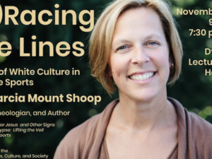 """Marcia Mount Shoop, """"(E)Racing the Lines: Marks of White Culture in College Sports"""""""