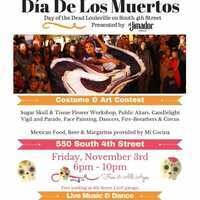 LALS Co-Sponsors the 6th Annual Day of the Dead Celebration on South 4th Street