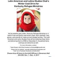 2nd Annual LALS Coat Drive for Kentucky Refugee Ministries